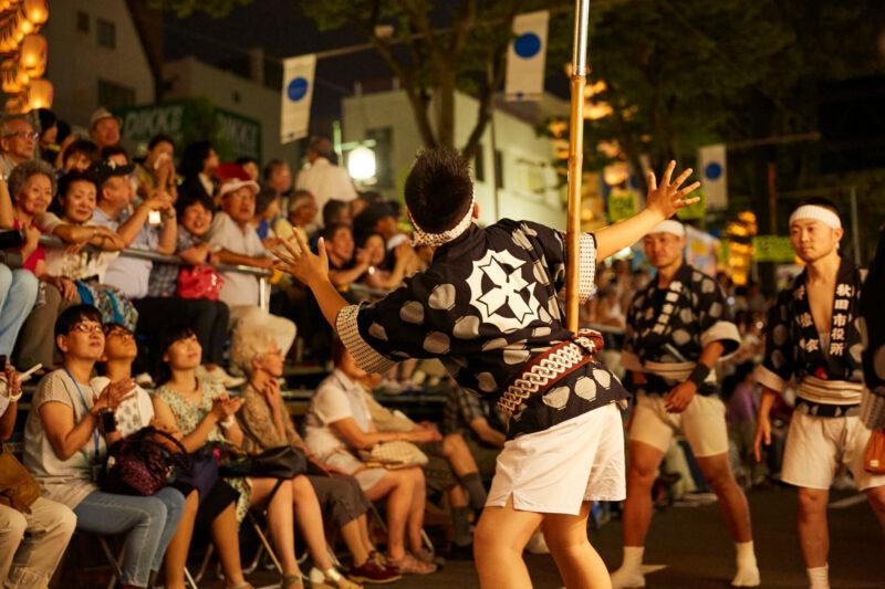 Kantou matsuri festival in Akita