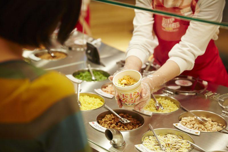 Cup noodle factory