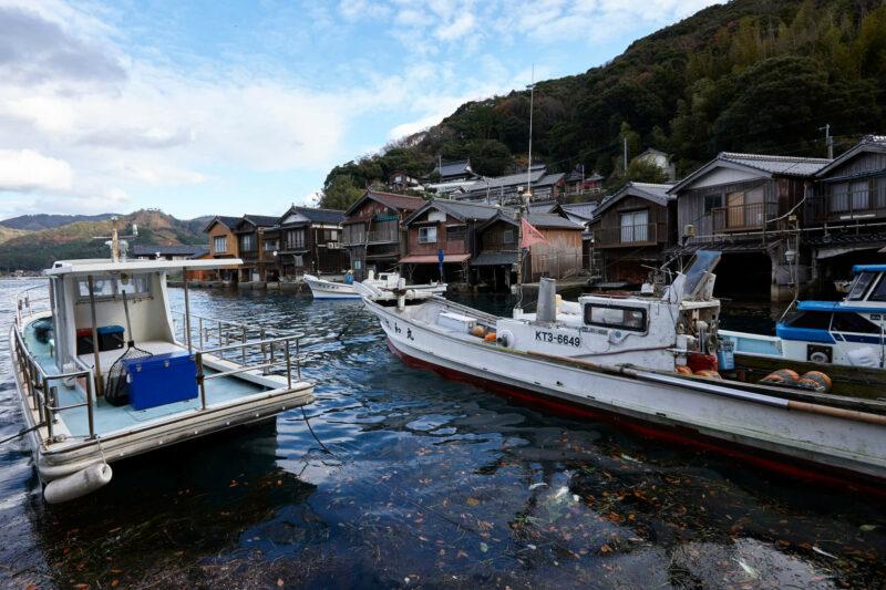 Fishing villages in Inenofunaya (Kyoto)