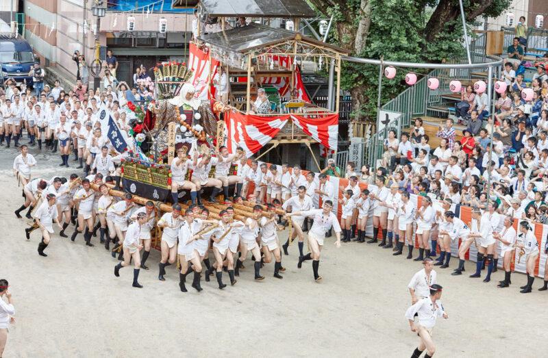 Hakata Gion Yamakasa Festival in Fukuoka