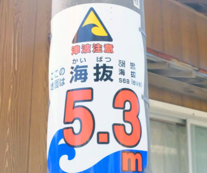 Above sea level signs
