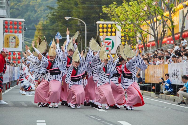 Awaodori dance festival